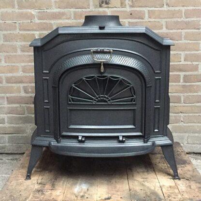vermont castings resolute houtkachel met 1 grote deur