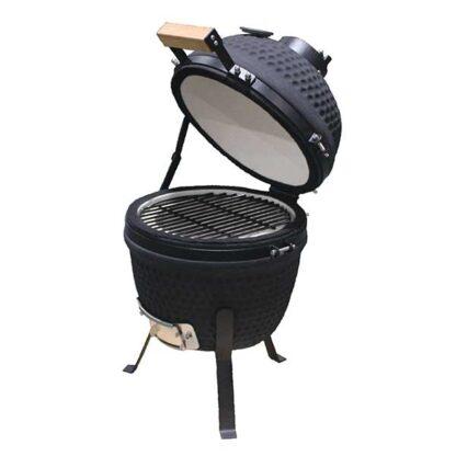 kamaod grill 13 inch met de deksel open