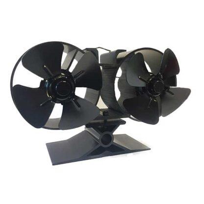 Kachelfan met dubbele ventilatoren
