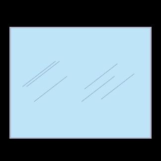 Glas voor het raam van een jacobus of Janus 12 kachel