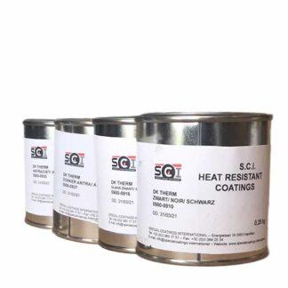 DK therm hittebestendige verf in blik van Special coatings international